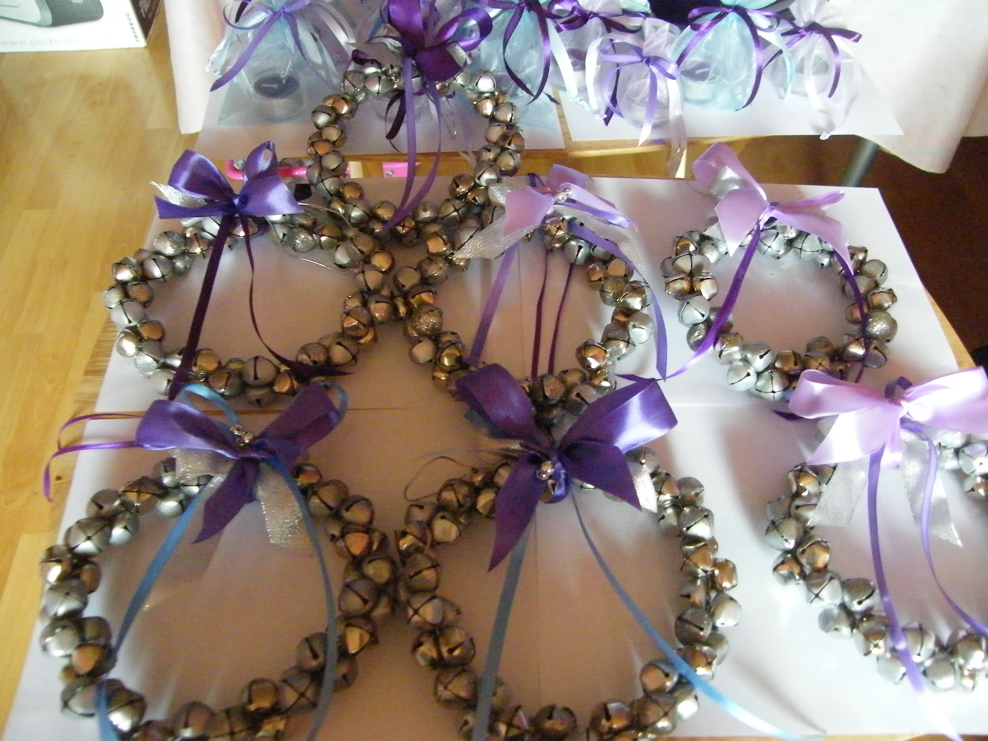 WEDDING ARRANGEMENTS FOR THE BANISTERS